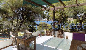 Poros, detached house with sea view for sale