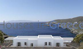 Kythnos, holiday homes at the sea