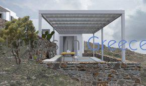 Kythnos, newly built holiday homes for sale