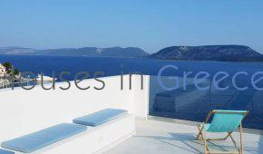 Ermioni center, detached modern house with stunning views for sale