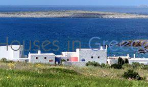 Architect house for sale in Paros at Makria Myti.