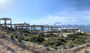 Emplacement unique: projet à vendre à Paros