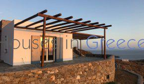 Serifos, new stone house with sea view for sale