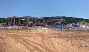 Concrete house for sale in LAGERI-PAROS,200m from the beach