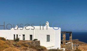 Kythnos, holiday home with sea view fro sale