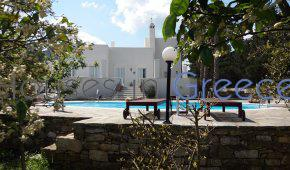 Naxos, Sagri, stunning villa with pool and big garden for sale
