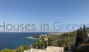 Spetses, Ligoneri, for sale, beautiful maisonette with breathtaking view