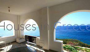 Sikinos, house on the sea for sale