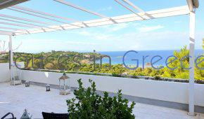 Unique duplex for sale in Kavouri with breathtaking sea view of Saronic Gulf