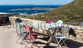 Villa à vendre à Paros dans les hauteurs de Paroikia