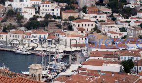 Hydra, for sale,lovely stone house overlooking the harbor