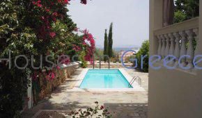 Spetses, for sale, lovely family house , great views , swimming pool