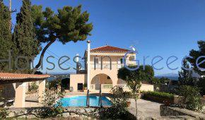 Spetses for sale,  luxury family house with large garden and swimming pool.