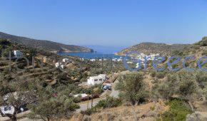 Sifnos, Vathi, buildable plot for sale