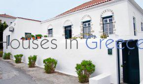 Spetses, prestigious old mansion, beautifully restored for sale.