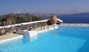Caldera villa for sale on Santorini