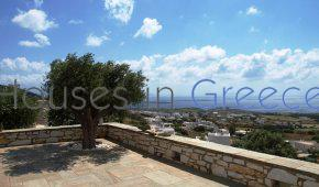 Wonderful seaview villa for sale on 9000 sqm land in Paros.