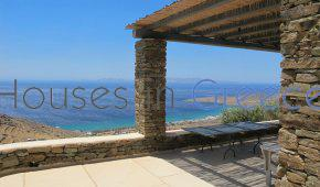 Cycladic stone villa on Tinos for sale