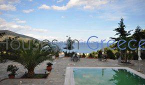 Villa among pine trees in Epidaurus for sale