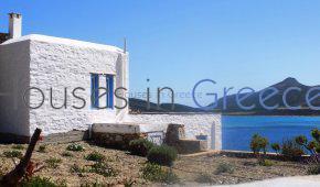 House on the beach in Antiparos