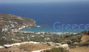 Land with sea view on Sifnos