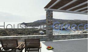 Minimal designed house on Kythnos