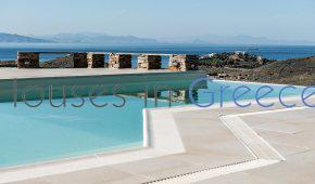 Luxurious villa  with pool and stunning seaview in Kea !