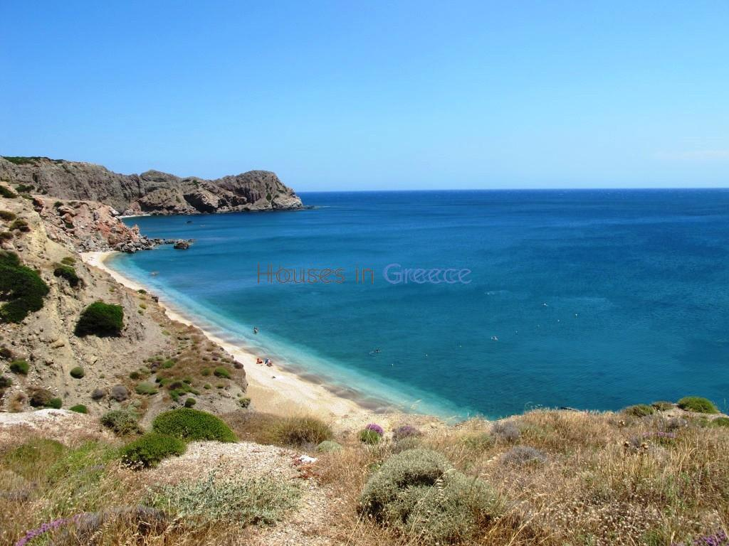 Plot On The Beach In Milos For Sale Houses In Greece Luxury Real