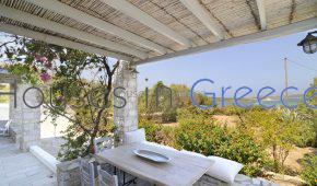 Cosy house, 80m from the sea, in Santa Maria, in Paros