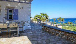 Beach front villa for sale in Paros