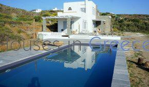 Sifnos, Faros, villa with pool and sea view