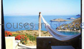 Syros, stone house with pool for sale