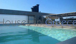 Top floor apartment for sale in Athens-Glyfada, with private swimming pool