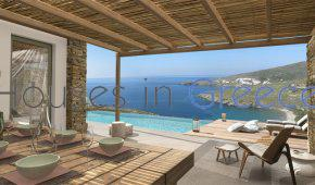 Luxurious villa for sale on Tinos