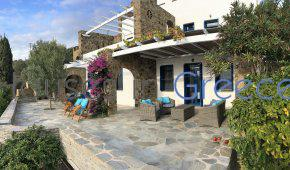 Andros: Cycladic house for sale with sea view
