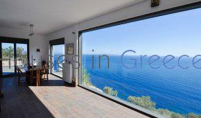 Peloponnese, amazing sea side villa for sale