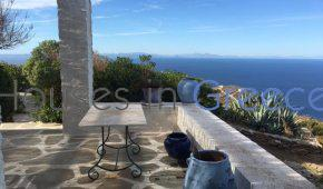 Unique property of 5 houses in Kea with pool, amazing view!