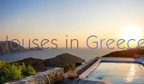 Syros: unique sea view villa for sale with pool