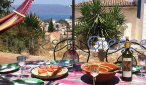 Beautiful house with view for sale in Hydra