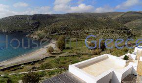 Kythnos, beach front villa for sale