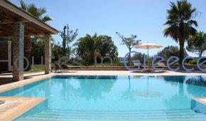 Porto Heli, luxury villa with tennis ground for sale