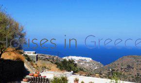 Sifnos, Exambela, house with sea view for sale