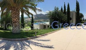 Luxury villa for sale, close to Loutraki-Corinth