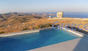Kythnos, for sale new built house with pool