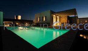 Kythnos, modern house with pool and sea view for sale
