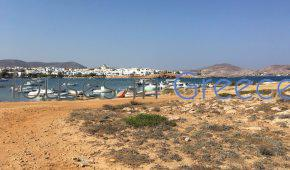 land for sale in paros on the beach