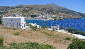 Andros, land on the sea for sale