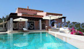 Porto Heli, villa with pool at the sea for sale
