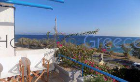 Aegina, duplex apartment with pool at the sea for sale