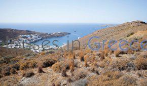 Kythnos, Merichas, plot for sale